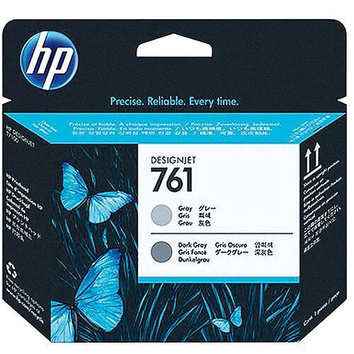 Hewlett Packard No761 Design Jet Print Head Grey/Dark Grey CH647A