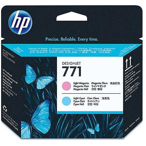 Hewlett Packard No771 Design Jet Print Head Light Magenta/Light Cyan CE019A