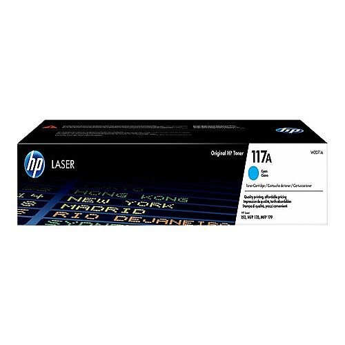 HP 117A Cyan toner cartridge (W2071A) for Color Laser 150a, 150nw, MFP 178nw, MFP 178nwg, MFP 179fnw