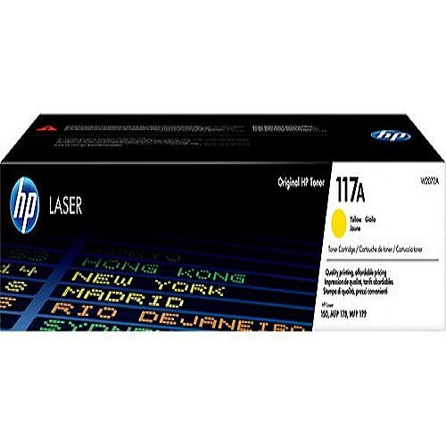 HP 117A Yellow Original Laser Toner Cartridge