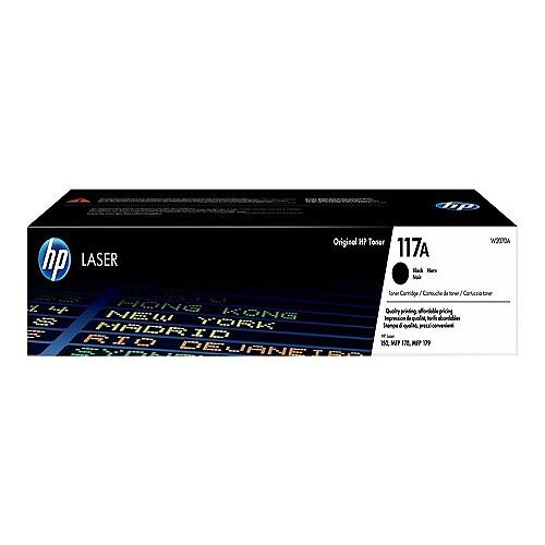 HP 117A Black toner cartridge (W2070A) for Color Laser 150a, 150nw, MFP 178nw, MFP 178nwg, MFP 179fnw