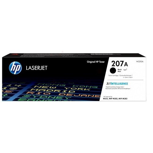 HP 207A Black Original Toner Cartridge W2210A