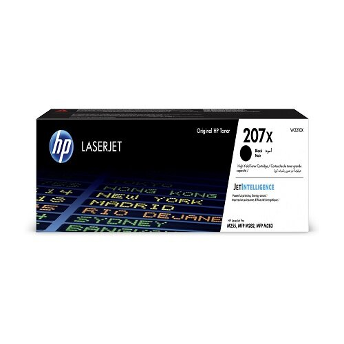 HP 207X Black Original Toner Cartridge W2210X