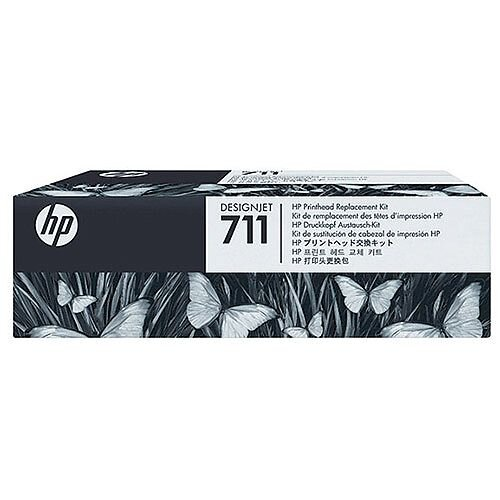 HP designjet No 711 Printhead Replacement Kit KCMY C1Q10A T120/T520