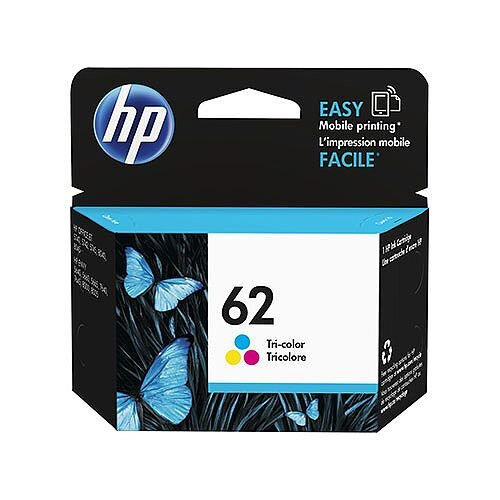 HP 62 (C2P06AE) Tri-Color Original Ink Cartridge