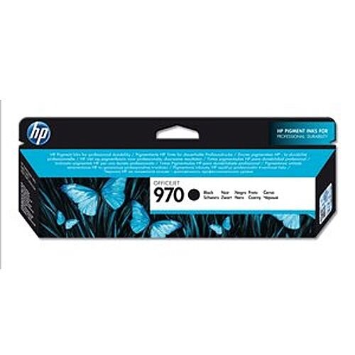Hewlett Packard No970 Officejet Ink Cartridge Black CN621AE