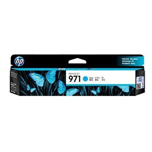 HP No971 Officejet Ink Cartridge Cyan CN622AE
