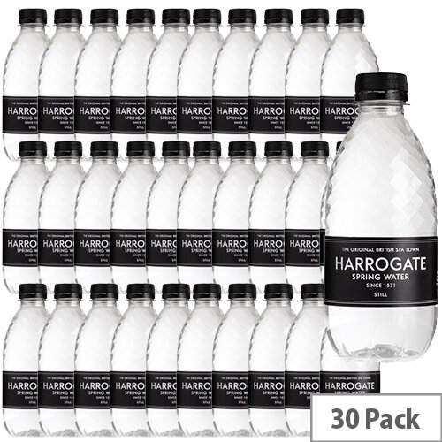 Harrogate Spa Spring Water Still Plastic Bottle 330ml Pack of 30