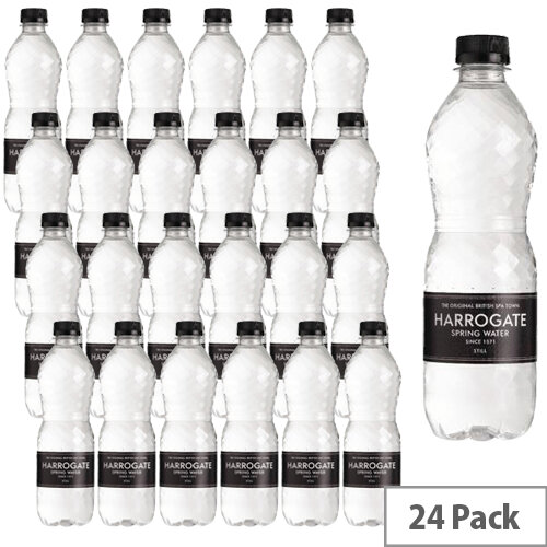 Harrogate Spring Bottled Water Still 500ml Pack of 24