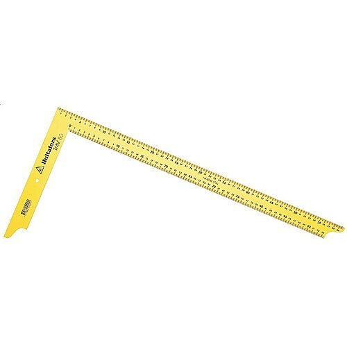 Steel Carpenter's Square TMV 100 Fixed mm Graduation 100cm Blade