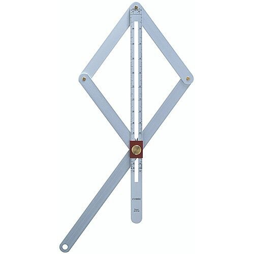 Aluminium Square Combi Adjustable 17cm Blade