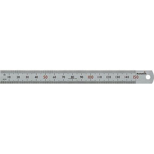 Steel Ruler STL 150 150mm Long mm Graduation