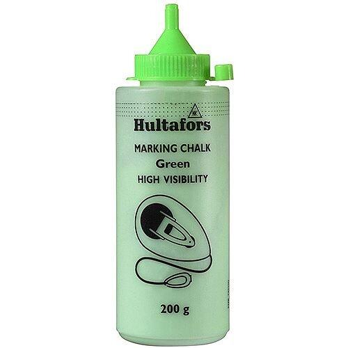 Chalkline Chalk H.V GREEN 200 200g Pack of 6