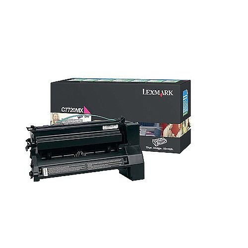 Lexmark C7720 Return Programme Extra High Yield Toner Cartridge Magenta C7720MX