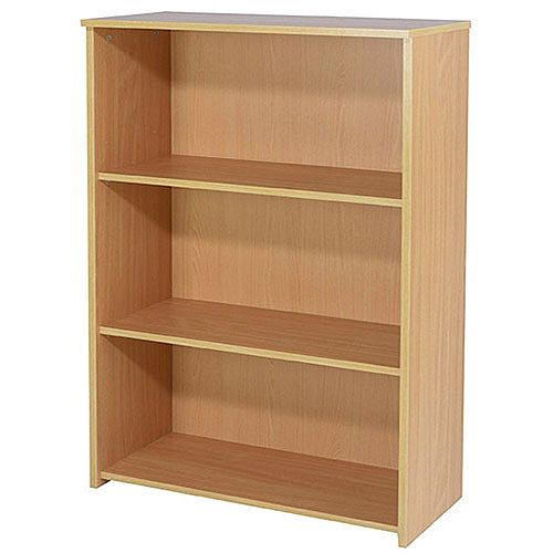 Jemini 1200mm Medium Bookcase Beech KF73512