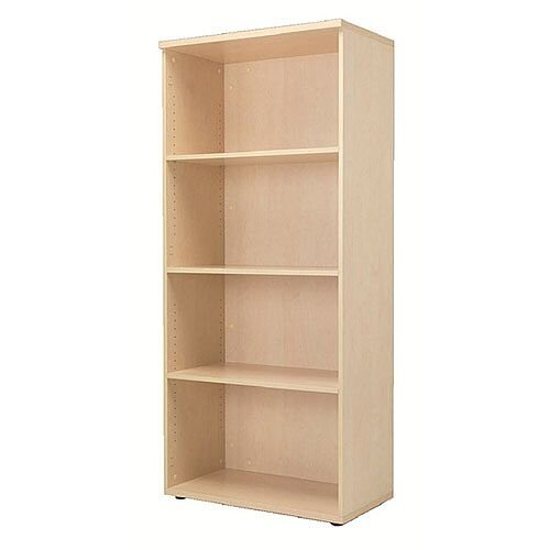 Jemini 1800mm Bookcase 4 Shelf Maple KF838422