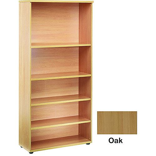 Jemini 2000mm Bookcase 4 Shelf Oak KF838419
