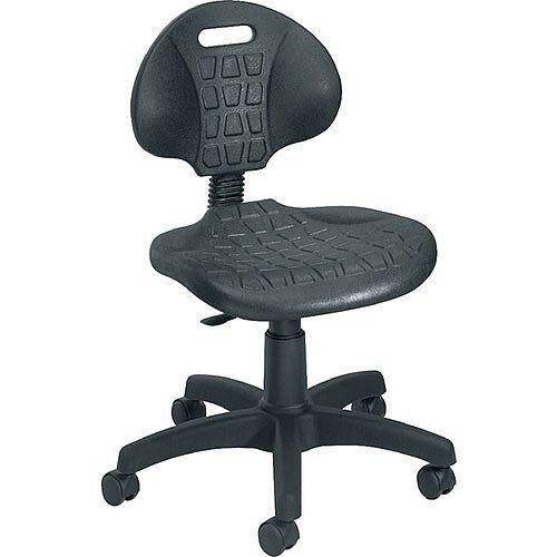 Jemini Factory Chair PU Black KF00197