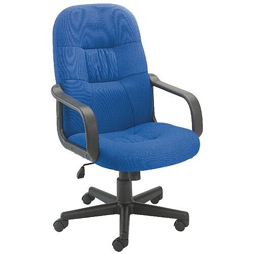 Jemini High Back Managers Office Chair Royal Blue