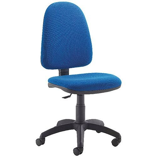 Jemini High Back Task Operators Office Chair Blue