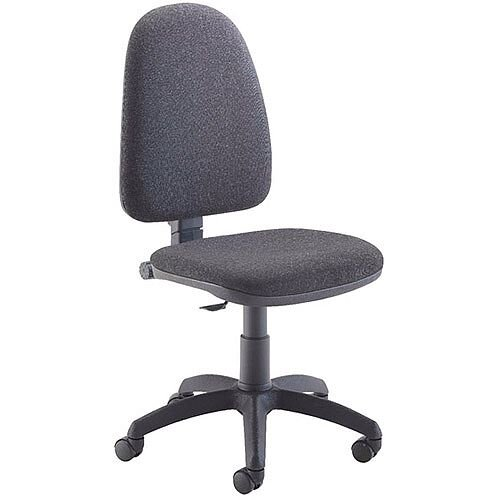 Jemini High Back Task Operators Office Chair Charcoal