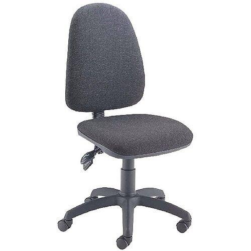 Jemini High Back Tilt Task Operators Office Chair Charcoal