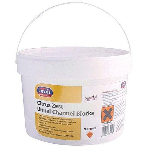 Jeyes Sanilav Urinal Channel Blocks Citrus 150 Tablets 541015