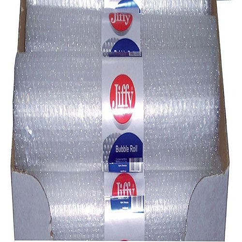Jiffy Bubble Wrap Roll Small 500mm x 3 Metres Clear 20 Pack
