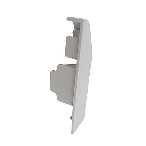 Right Hand End Cap - White