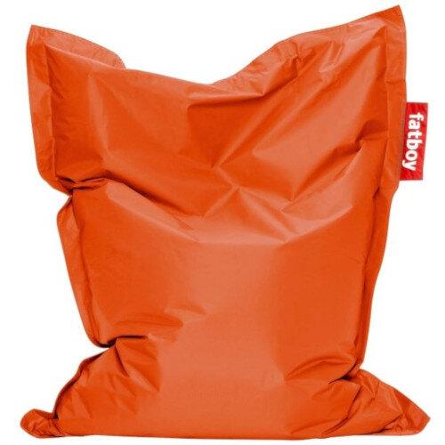 Junior Bean Bag 130x100cm Orange Suitable for Indoor Use - Fatboy The Original Bean Bag Range