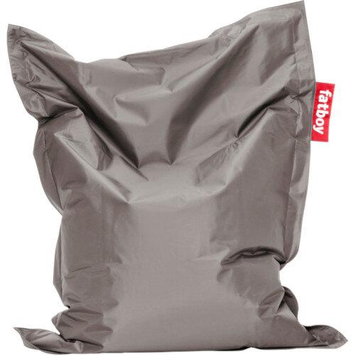 Junior Bean Bag 130x100cm Silver Suitable for Indoor Use - Fatboy The Original Bean Bag Range
