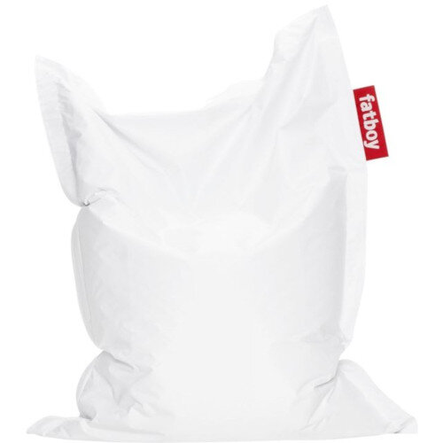 Junior Bean Bag 130x100cm White Suitable for Indoor Use - Fatboy The Original Bean Bag Range
