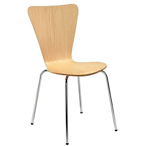 Picasso Wooden Cafe Chair Beech CH0672BE