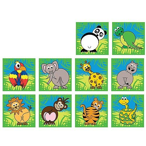Town &Country Zoo Animals Mini Placement Carpets
