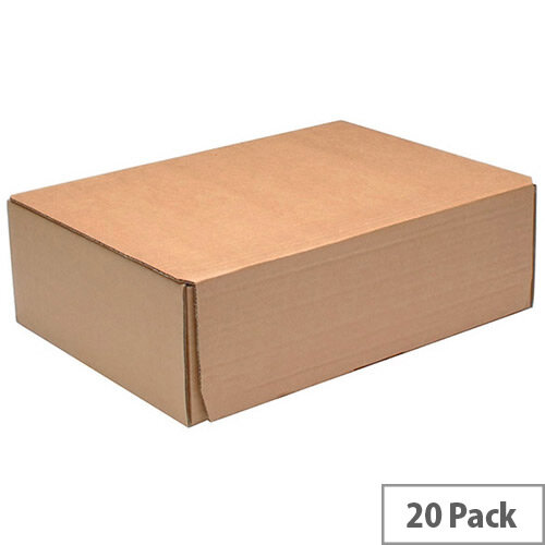 Fsmisc Mailing Boxes 325x240x105mm Pack of 20