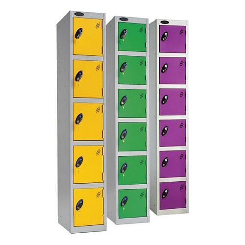 Lockers With Key Operated Lock