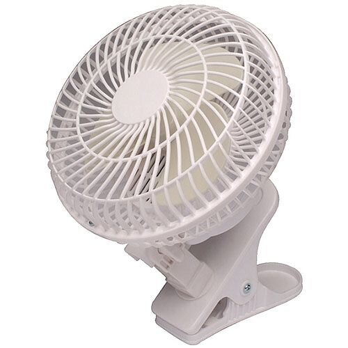 Clip On Desk Fan 6 Inch 150mm Q Connect