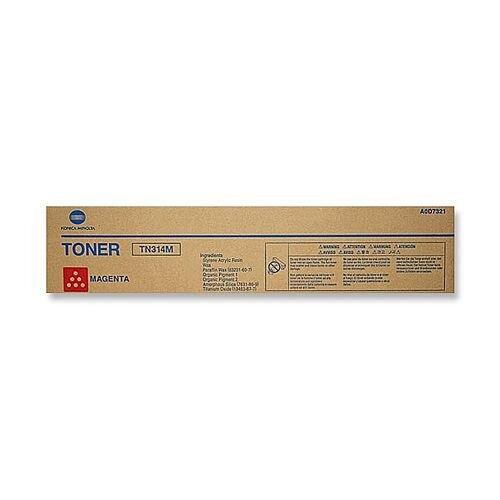 Konica Minolta Bizhub C353 Toner Cartridge Magenta TN314M