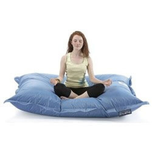 Large Blue Bean Bag For Indoor and Outdoor Use