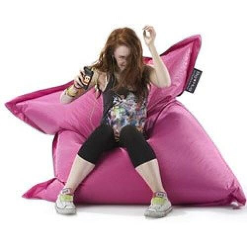 Large Pink Bean Bag For Indoor and Outdoor Use