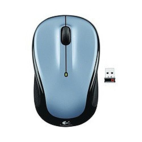 Logitech M325 Wireless Mouse Light Silver 910-002334
