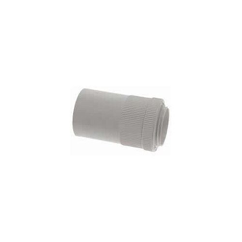 20mm PVC Male Adaptors - White