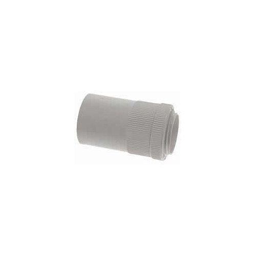 25mm PVC Male Adaptors - White
