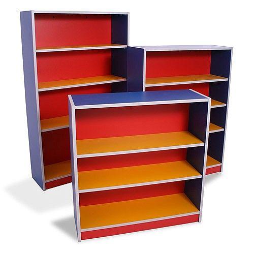 Medium Multi Coloured Bookcase Height 1130mm MCBC2