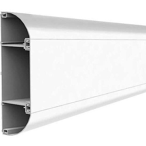 ELITE Compact Dado Trunking 3m lgth - White