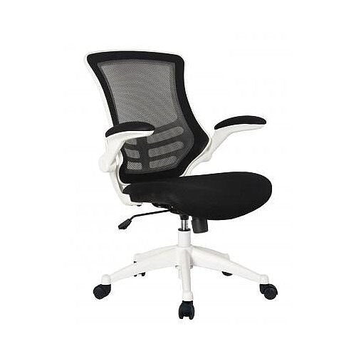 Executive High Back Mesh OP Office Chair White Frame - Stylish Design &Great Comfort - 2 Year Warranty
