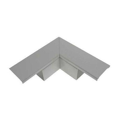 100 x 100mm Flat Angle - Grey