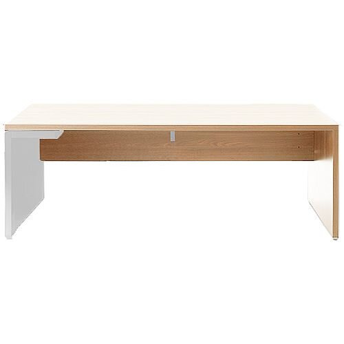 Mito Executive Desk 2000mm Light Sycamore &White