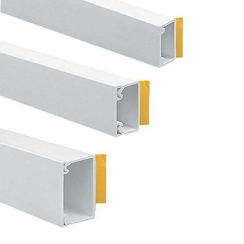 38mm x 16mm Self-Adhesive Mini Trunking 3m lgth