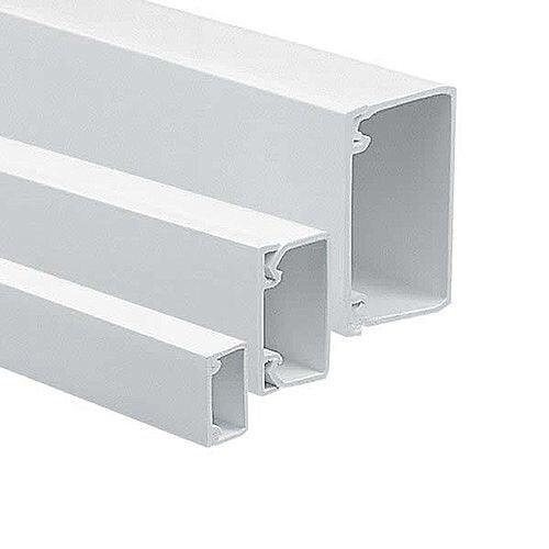50mm x 25mm Adhesive Standard Mini Trunking 3m lgth